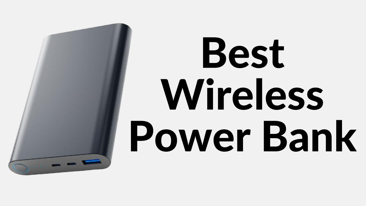 Best Wireless power bank in India
